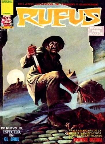 Couverture de Rufus (Eerie en espagnol) -26- El caul/Crimen ritual