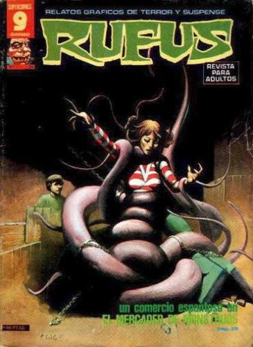 Couverture de Rufus (Eerie en espagnol) -31- El mercader de monstruos