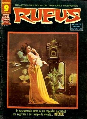Couverture de Rufus (Eerie en espagnol) -33- Duende