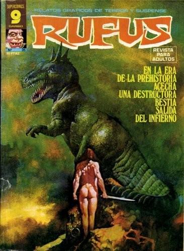 Couverture de Rufus (Eerie en espagnol) -35- Bestia salida del infierno
