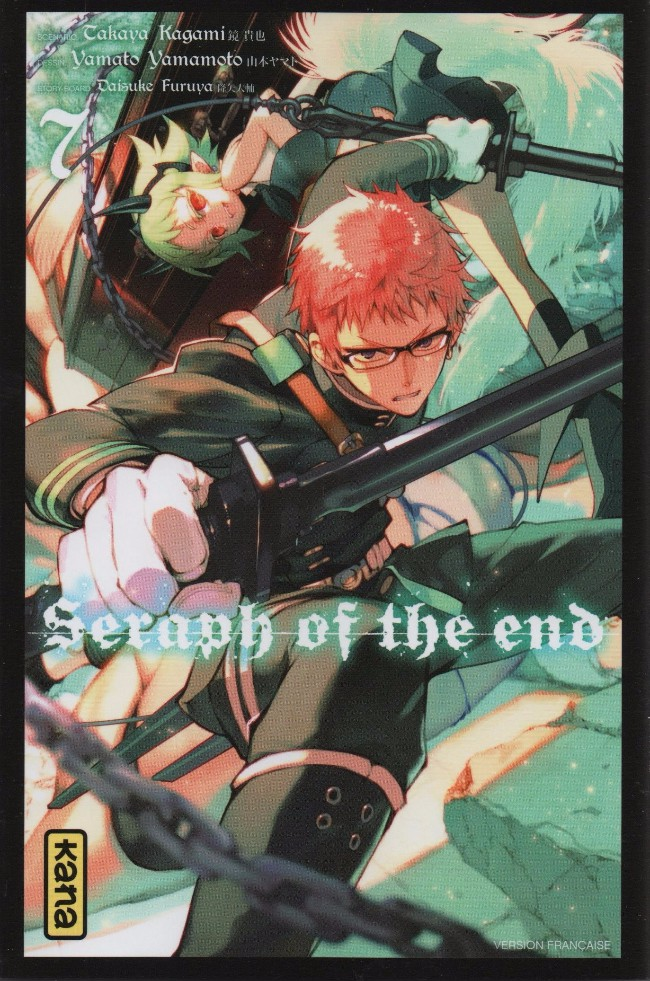 Couverture de Seraph of the End -7- Tome 7