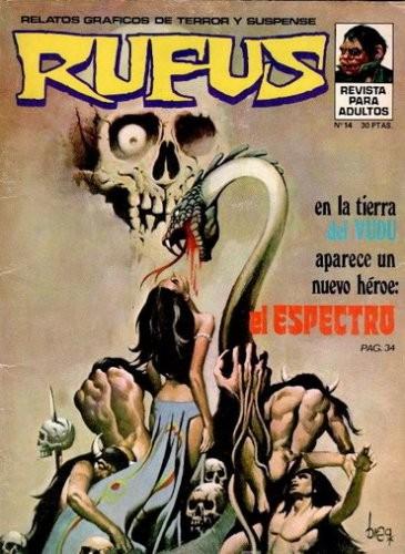 Couverture de Rufus (Eerie en espagnol) -14- El espectro