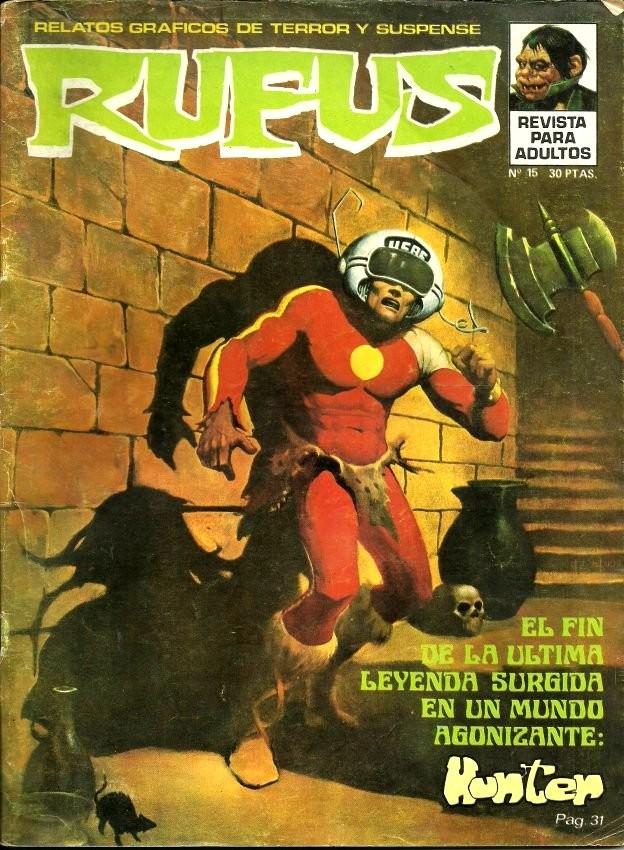 Couverture de Rufus (Eerie en espagnol) -15- Hunter