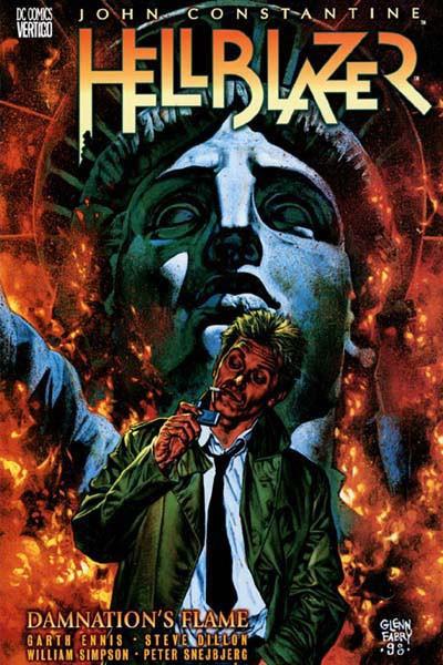Couverture de Hellblazer (DC comics - 1988) -INT-09- Damnation's Flame
