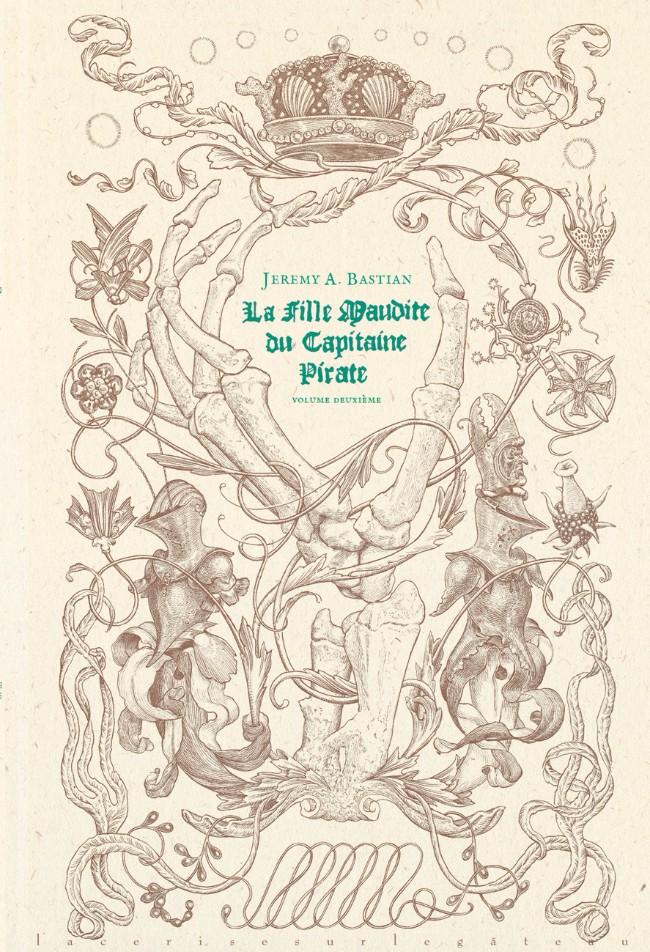 Couverture de La fille Maudite du Capitaine Pirate -2- Volume deuxième