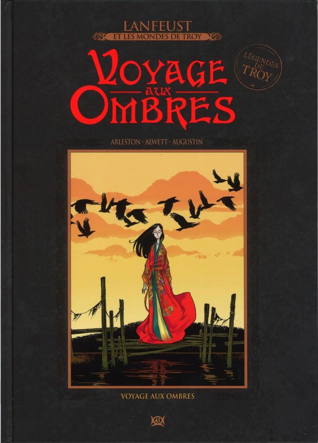 Couverture de Lanfeust et les mondes de Troy - La collection (Hachette) -43- Voyage aux Ombres