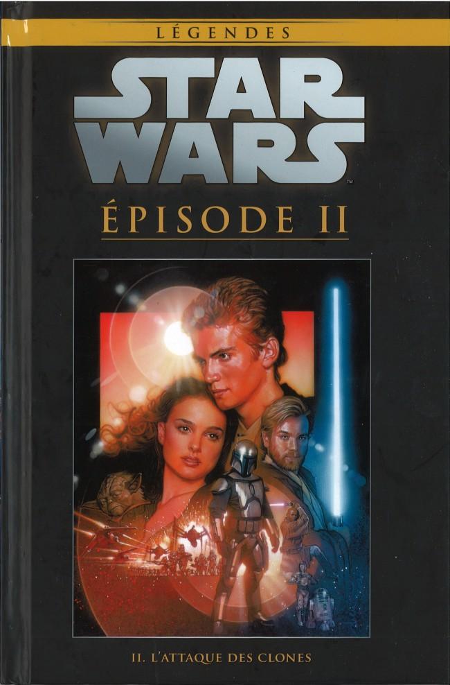 Couverture de Star Wars - Légendes - La Collection (Hachette) -1925- Épisode II - L'Attaque des Clones