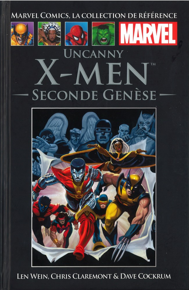Couverture de Marvel Comics - La collection (Hachette) -63XXX- Uncanny X-Men - Seconde Genèse