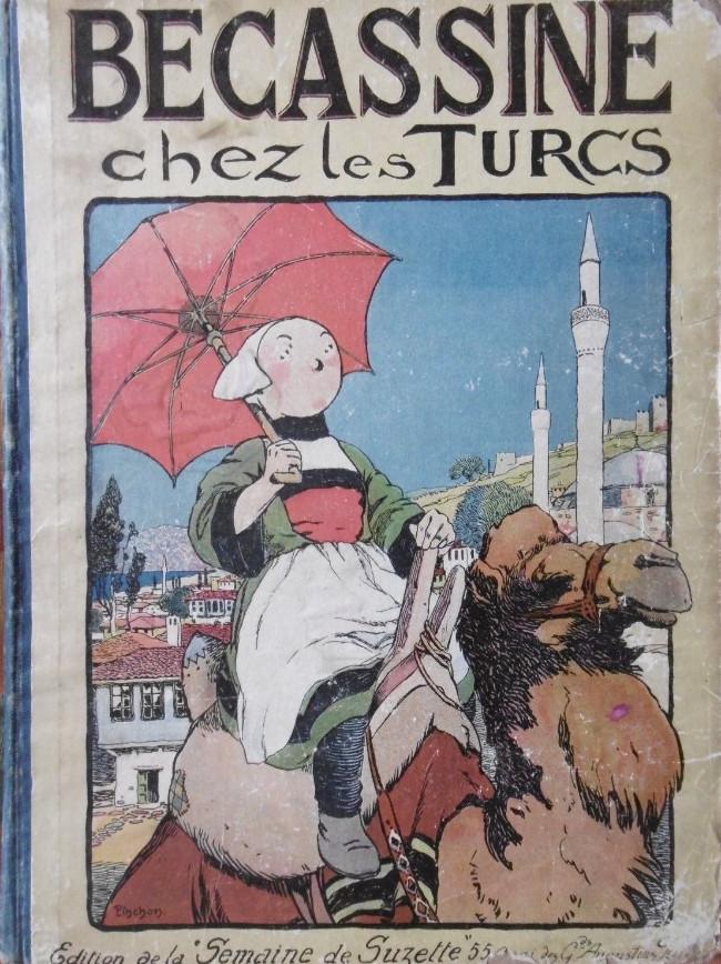 Couverture de Bécassine -6- Bécassine chez les Turcs