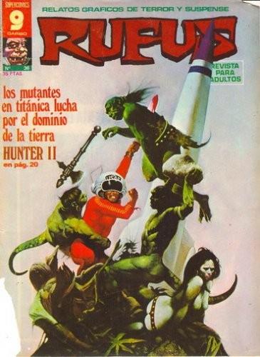 Couverture de Rufus (Eerie en espagnol) -36- Hunter II