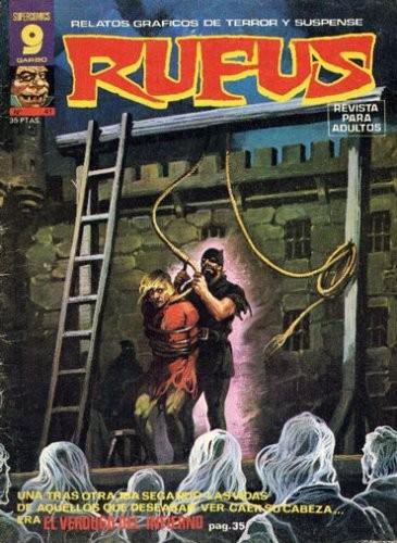 Couverture de Rufus (Eerie en espagnol) -41- El verdugo del infierno
