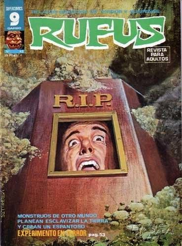 Couverture de Rufus (Eerie en espagnol) -42- Experimento en terror