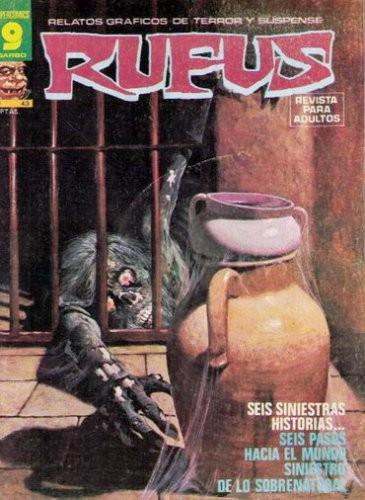 Couverture de Rufus (Eerie en espagnol) -43- Seis siniestras historias...