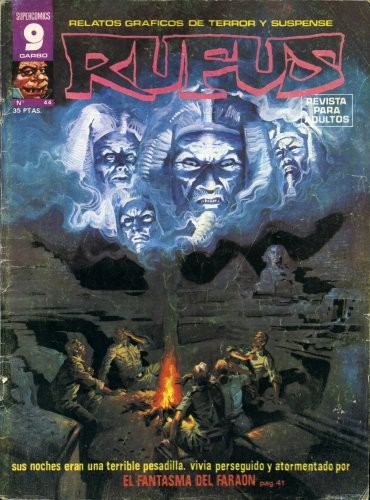 Couverture de Rufus (Eerie en espagnol) -44- El fantasma del faraón