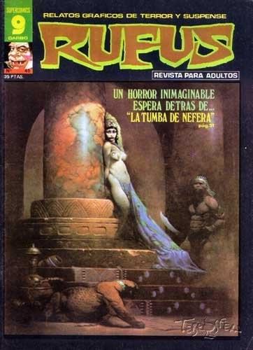 Couverture de Rufus (Eerie en espagnol) -45- La tumba de Nefera