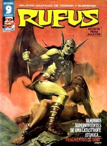 Couverture de Rufus (Eerie en espagnol) -46- Fragmentos de odio