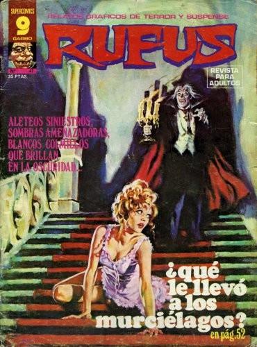 Couverture de Rufus (Eerie en espagnol) -47- ¿ Qué le llevó a los murciélagos ?