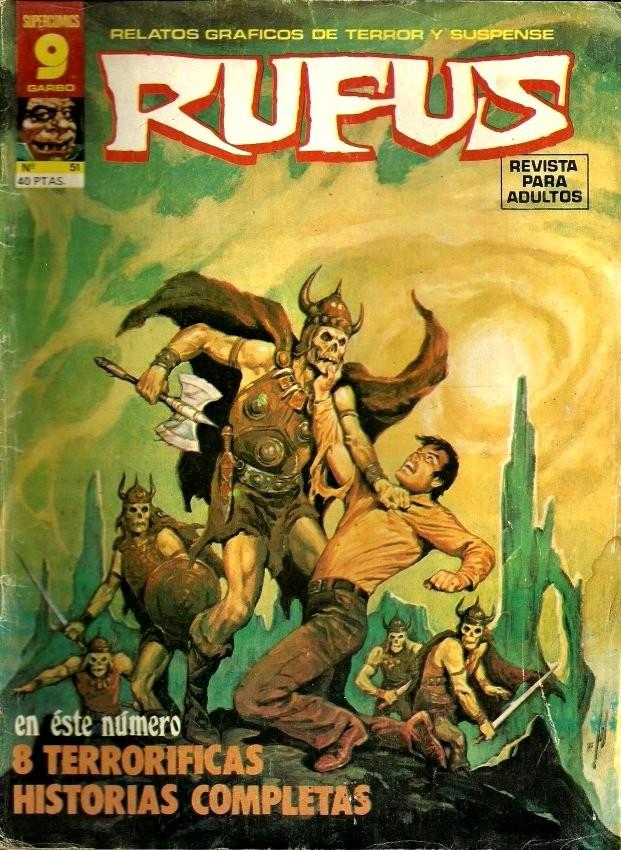 Couverture de Rufus (Eerie en espagnol) -51- 8 terroríficas historias completas