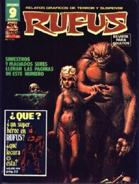 Couverture de Rufus (Eerie en espagnol) -52- Salto al infierno