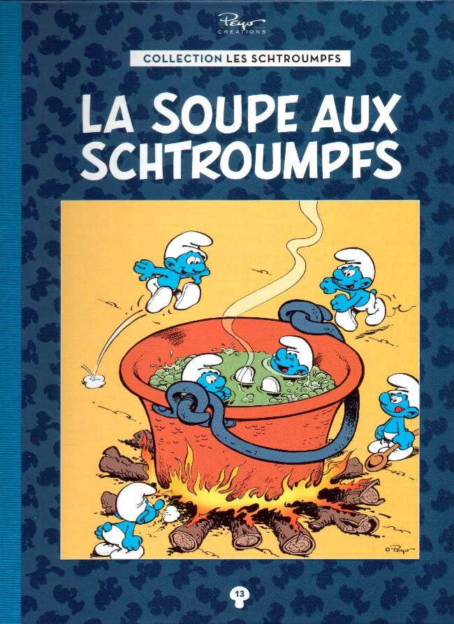 Couverture de Les schtroumpfs - La collection (Hachette) -13- La soupe aux Schtroumpfs