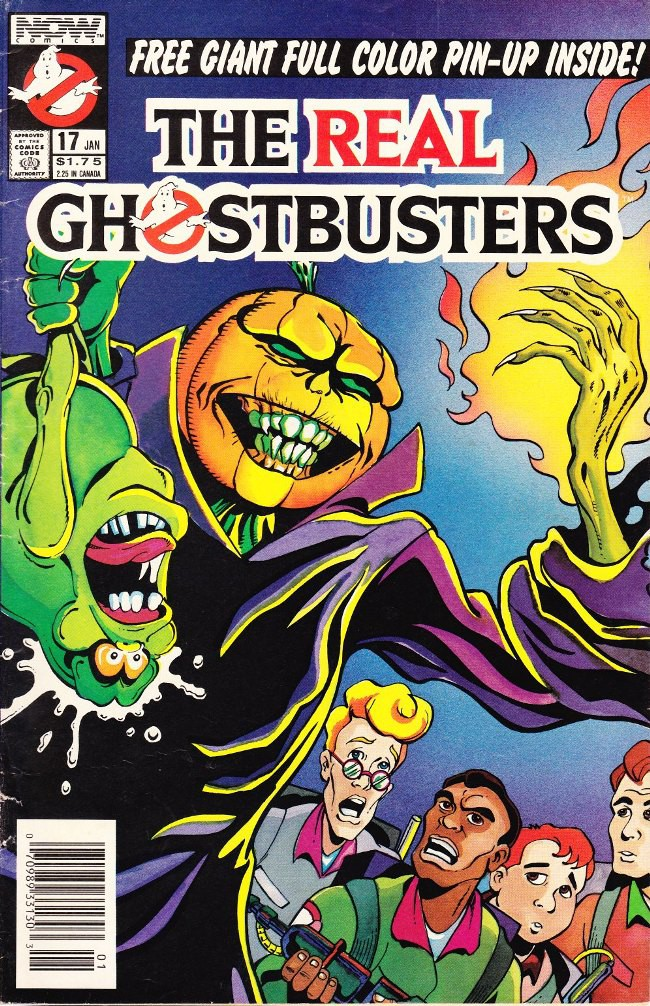 Couverture de Real Ghostbusters (The) -17- Samhain-chanted evening