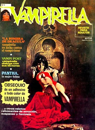 Couverture de Vampirella (en espagnol) -3- La sombra de Drácula