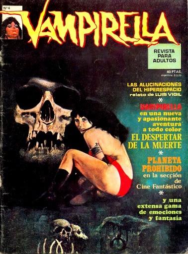 Couverture de Vampirella (en espagnol) -4- El despertar de la muerte