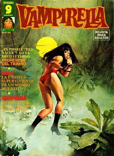 Couverture de Vampirella (en espagnol) -8- Regresion del tiempo