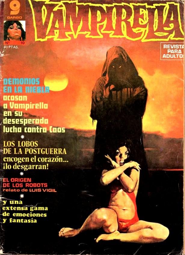 Couverture de Vampirella (en espagnol) -10- Demonios en la niebla