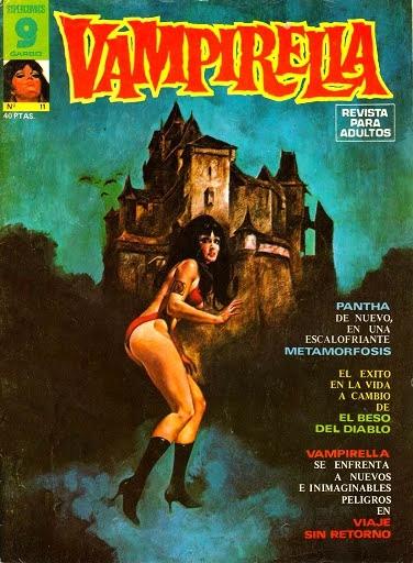 Couverture de Vampirella (en espagnol) -11- El beso del diablo
