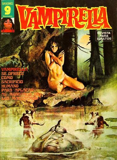 Couverture de Vampirella (en espagnol) -12- Numéro 12