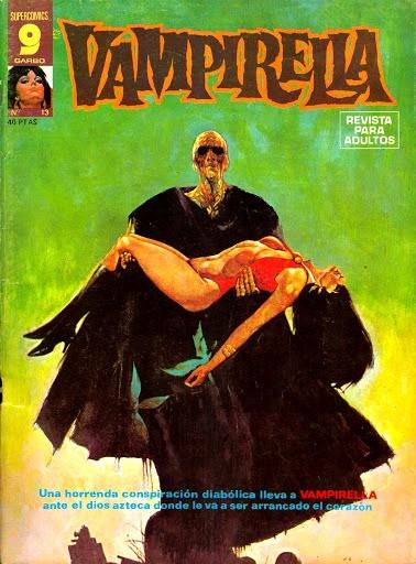 Couverture de Vampirella (en espagnol) -13- Numéro 13