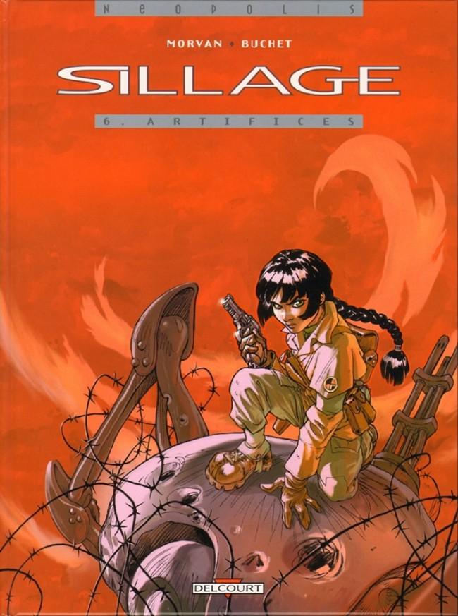 Couverture de Sillage -6- Artifices