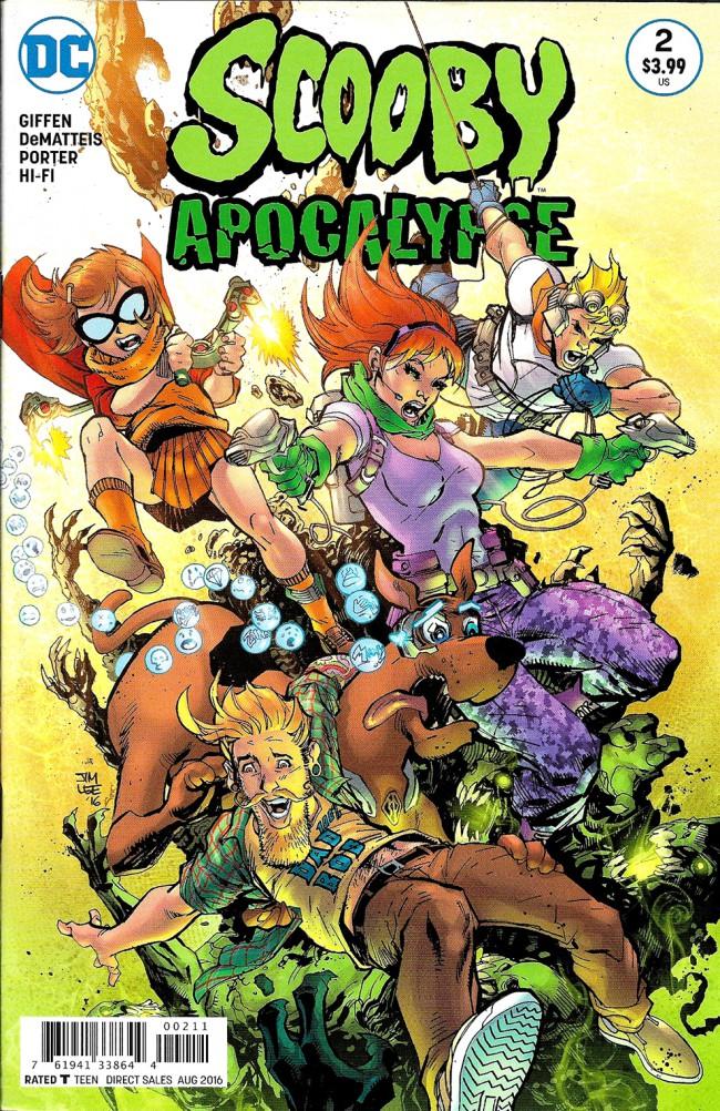 Couverture de Scooby Apocalypse (2016) -2- Apocalypse Right Now!