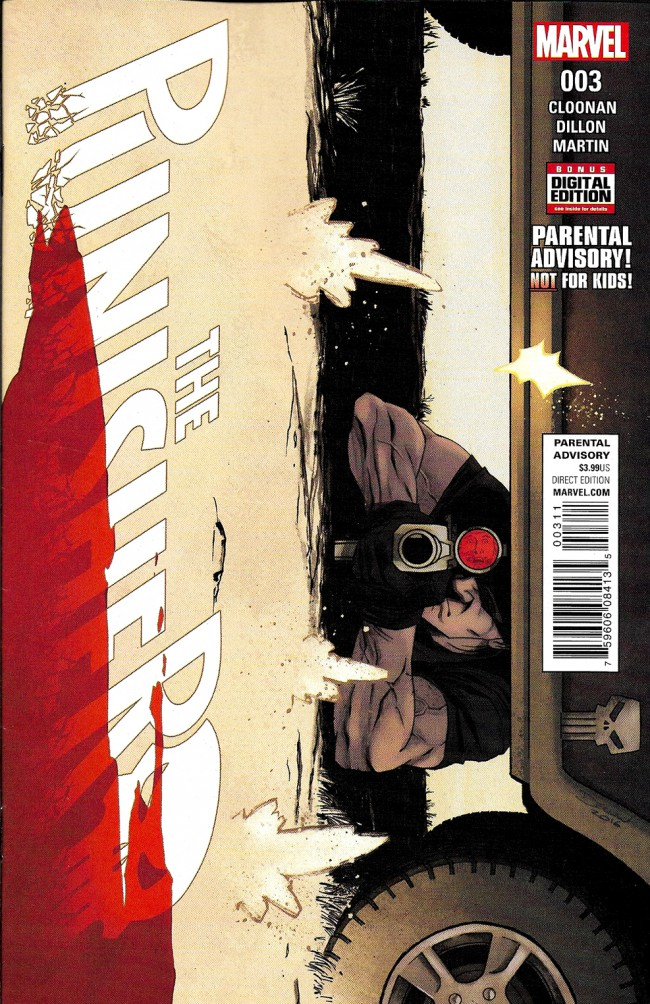 Couverture de Punisher (2016) (The) -3- Issue 3