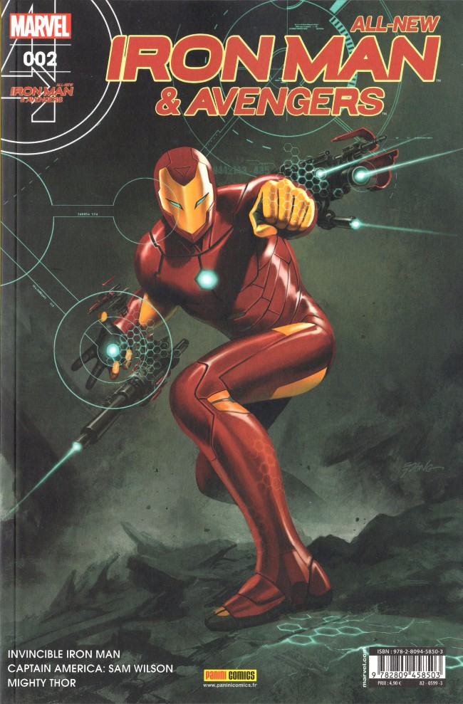 Couverture de All-New Iron Man & Avengers -2- La Guerre des elfes