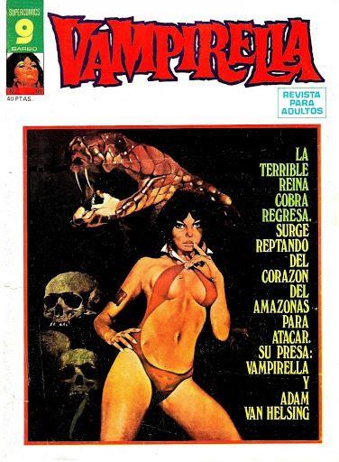 Couverture de Vampirella (en espagnol) -18- Numéro 18