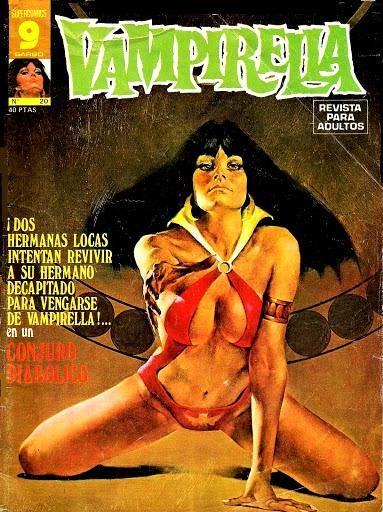 Couverture de Vampirella (en espagnol) -20- Conjuro diabolico