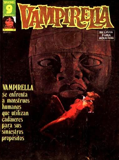 Couverture de Vampirella (en espagnol) -21- Numéro 21