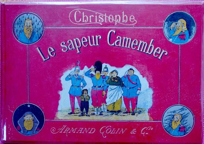 Couverture de Le sapeur Camember - Les facéties du sapeur Camember