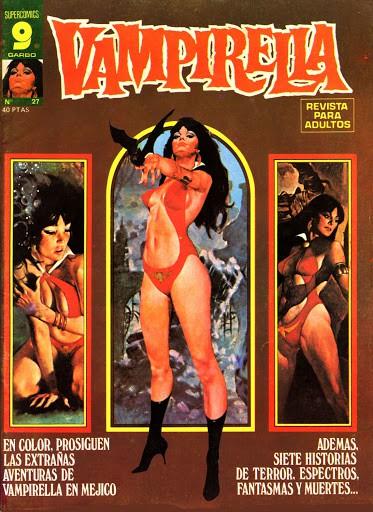 Couverture de Vampirella (en espagnol) -27- Numéro 27