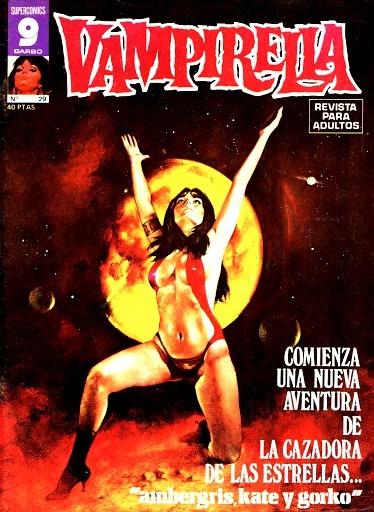 Couverture de Vampirella (en espagnol) -29- Numéro 29