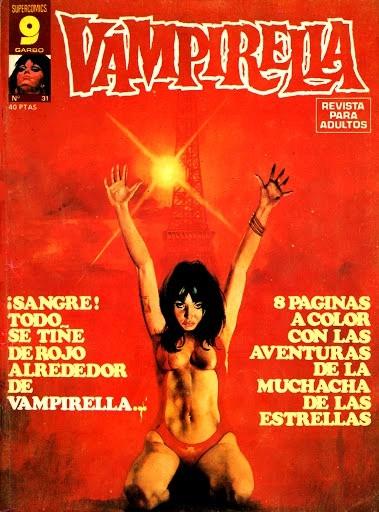 Couverture de Vampirella (en espagnol) -31- Numéro 31