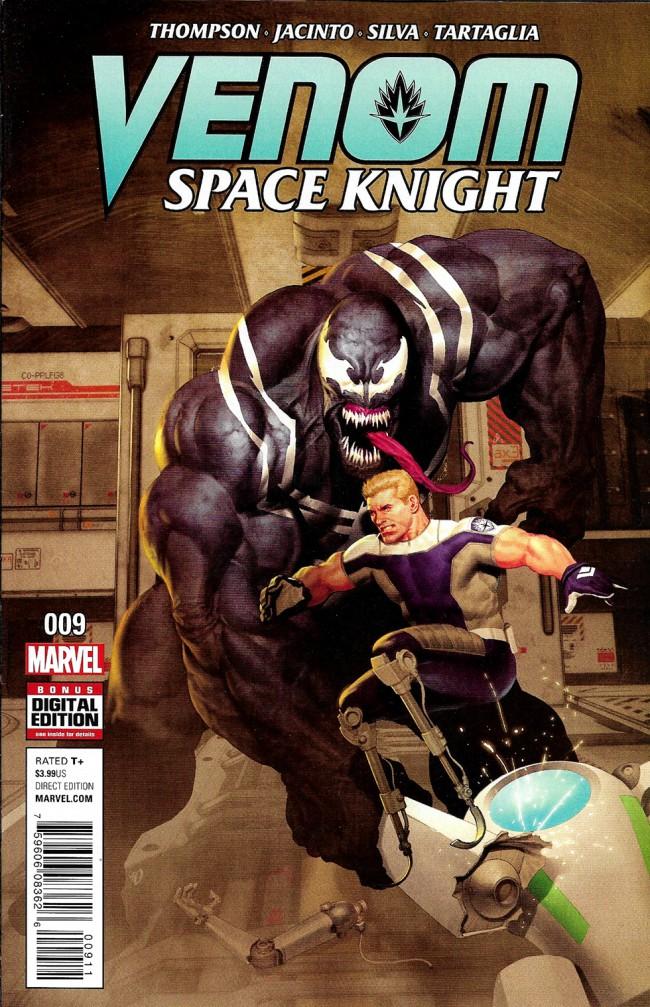 Couverture de Venom: Space Knight (2016) -9- Issue 9