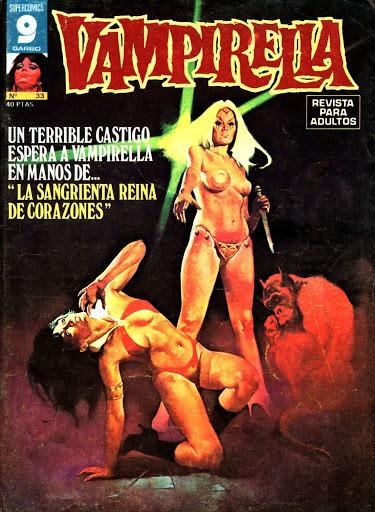 Couverture de Vampirella (en espagnol) -33- La sangrienta reina de corazones