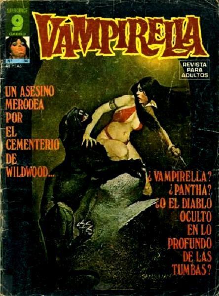 Couverture de Vampirella (en espagnol) -34- Numéro 34
