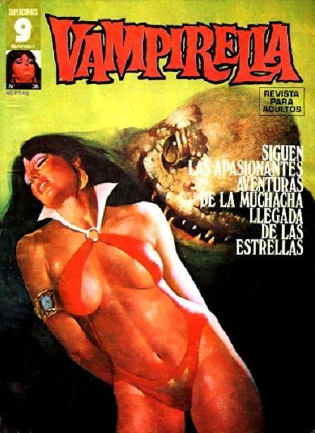 Couverture de Vampirella (en espagnol) -36- Numéro 36