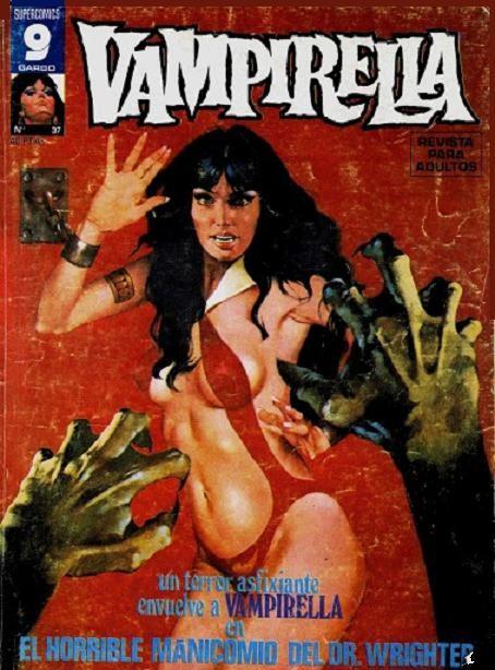 Couverture de Vampirella (en espagnol) -37- El horrible manicomio del DR. Wrighter