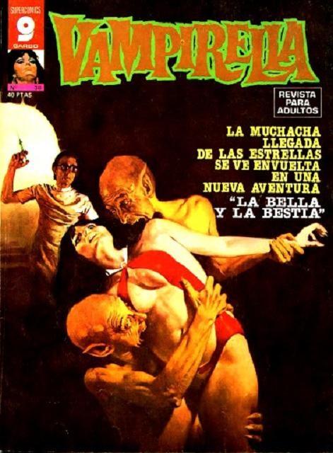 Couverture de Vampirella (en espagnol) -38- La bella y la bestia