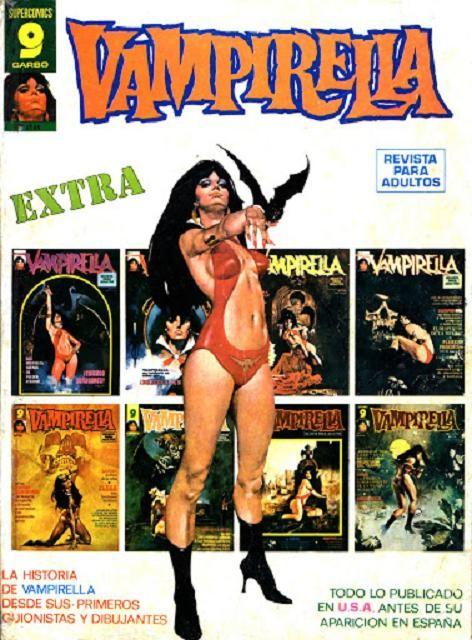 Couverture de Vampirella (en espagnol) -EXTRA 01- Vampirella extra